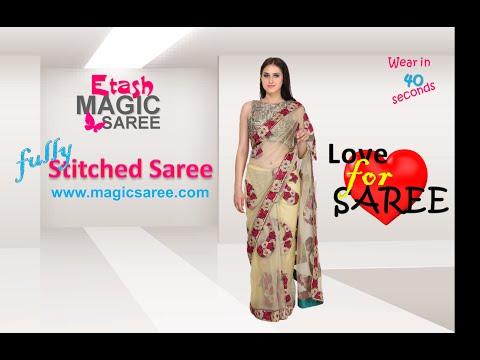 Etash MAGIC saree - Stitched SMART saree ETMSB15001