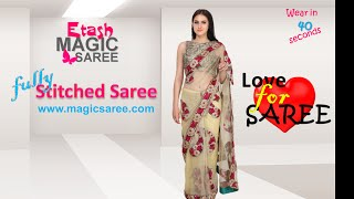 Etash MAGIC saree - Stitched SMART saree ETMSB15001