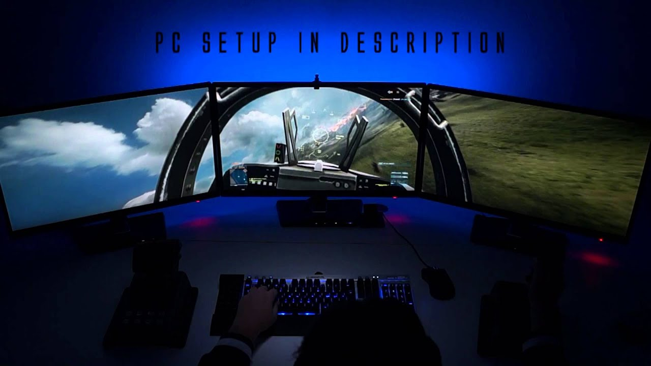 Car 5760x1080 Wallpaper Quot Pilot View Quot Bf3 Triple Screen 5760x1080 Gtx 680 I7 2600k