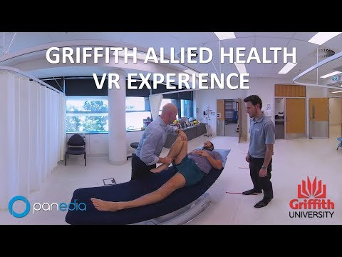 Griffith University Allied Health Clinic Virtual Tour