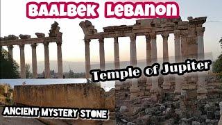 #Lebanon Baalbek: Temple of Jupiter + Megalithic Stone //travelvlog