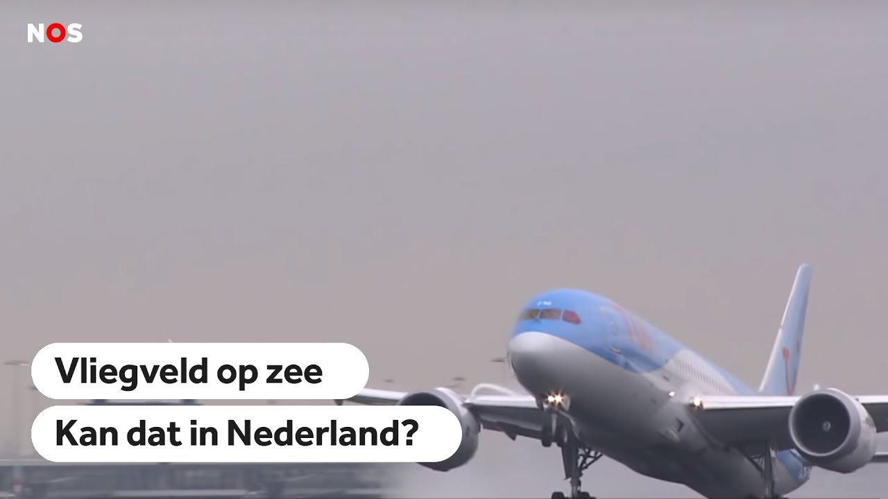 Schiphol op zee? Deze vliegvelden liggen al in zee