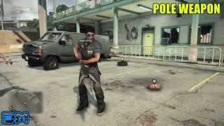 Dead rising 3 pole weapon blueprint location w gameplay xbox