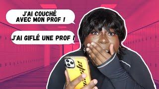 Je réagis à vos pires anecdotes à l'école ! + CONCOURS ! ⎜Justyocaste