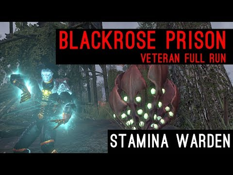 Stamina Warden Beast Mode activated! Blackrose Prison