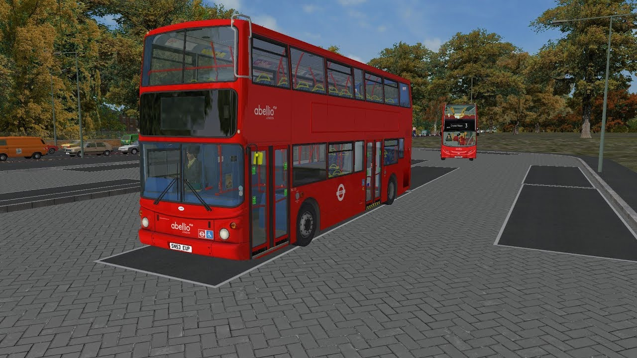 OMSI 2 | Bus Simulator | Transbus Trident Alexander ALX400 | South London  Map | Abellio London HD