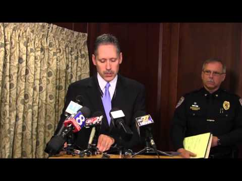 David Giliberti press conference with Lancaster County district attorney Craig Stedman