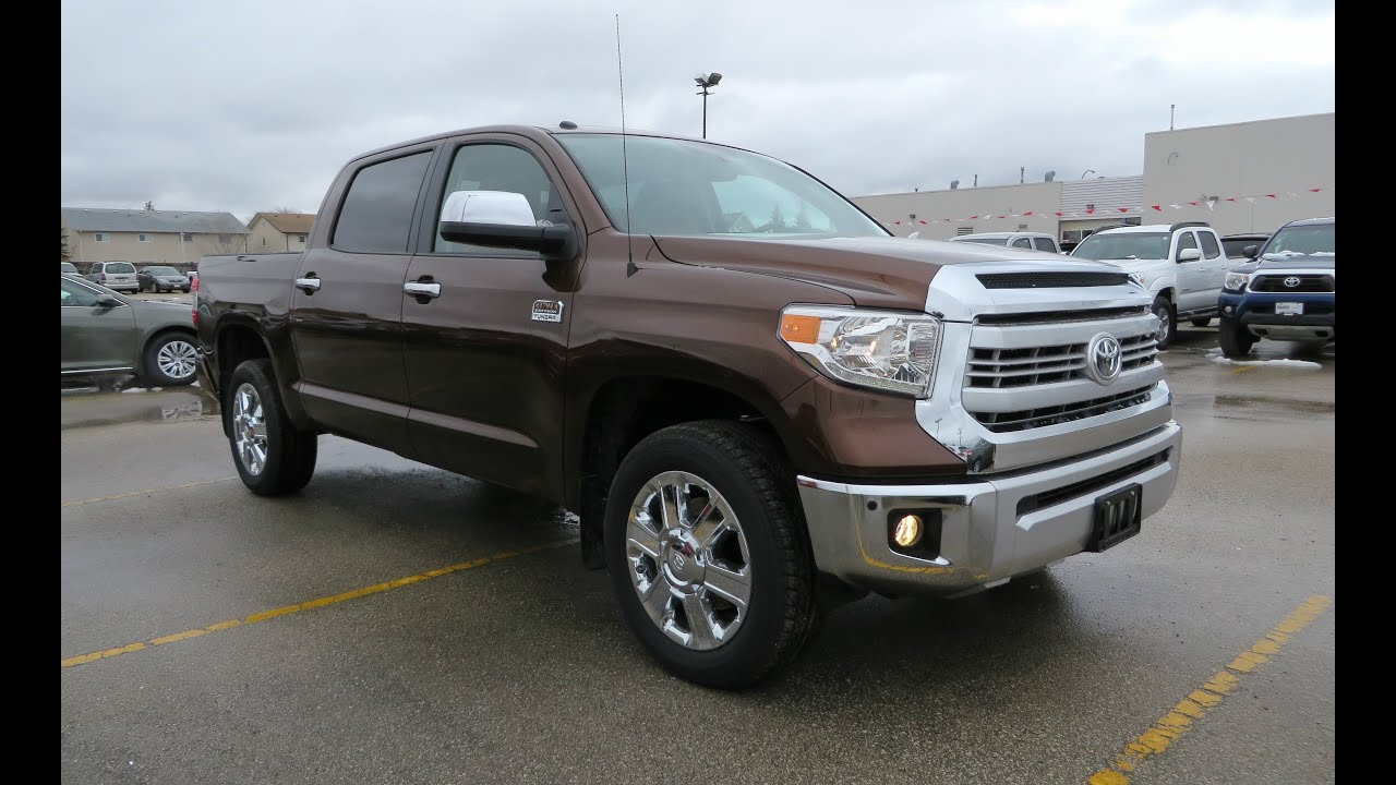 2014 Toyota Tundra 1794 Edition Review Start Up and Walkaround
