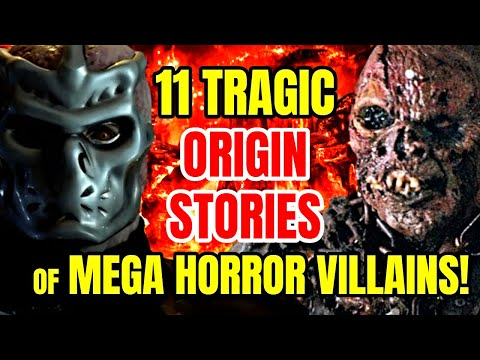 11 Captivating Origin Stories of Mega Horror Villains!