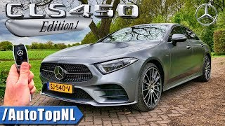 2018 Mercedes Benz CLS 450 Edition1 REVIEW POV Test Drive on Road & AUTOBAHN by AutoTopNL