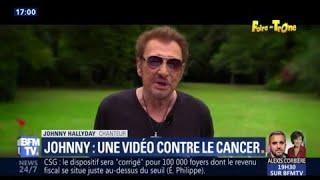 Le message vidéo inédit de Johnny contre le cancer pour l'ouverture de la Foire du Trône