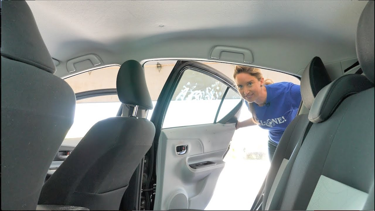 green cleaning car interiors with dr bronner s youtube