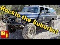 Overlanding, Rock Crawling, Grocery Getting Square Body Suburban on 40s!