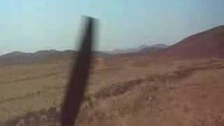 Approach and Landing @ Epupa Falls, Namibia, C210 bushflying