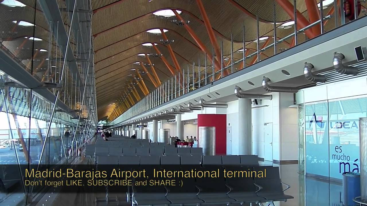 Barajas Madrid Airport - YouTube