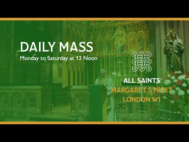 Daily Mass on the 20th January 2021