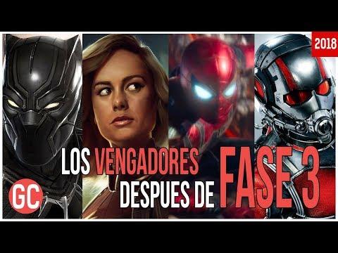 ¿Quién Estará En El Nuevo Equipo de Vengadores Después Infinity War Y Avengers 4?