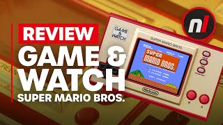 Game & Watch: Super Mario Bros. Review - Is It Worth It?