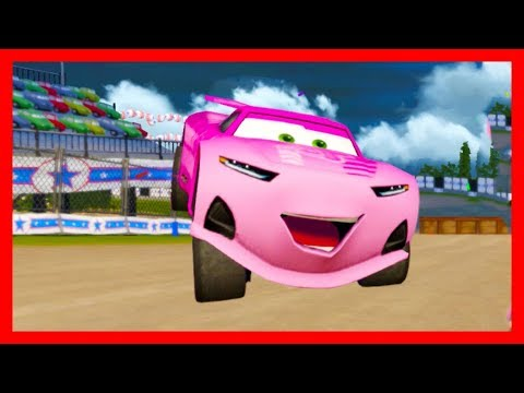 rich mixon races lightning mcqueen and friends cars 3. Black Bedroom Furniture Sets. Home Design Ideas