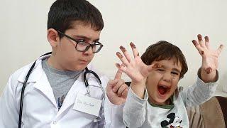Abur Cubur Yiyince Karnı Ağrıyan Çocuğu Doktor Muayene Etti