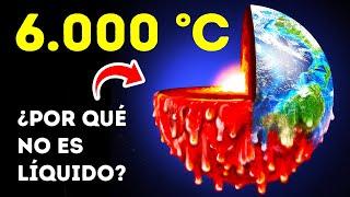 El interior de la Tierra arde como el Sol; entonces, ¿por qué nuestro planeta no se derrite?
