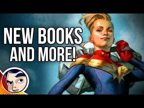 New Injustice Comics? New Captain Marvel Comics? More Iron Man? - Comics TONIGHT Casual