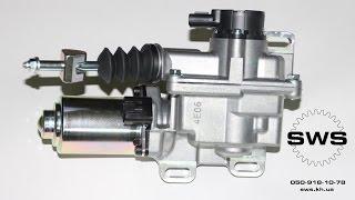 SWS - Ремонт и модернизация актуатора сцепления Toyota Corolla, Auris, Yaris (установка подшипников)