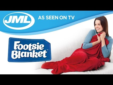 Footsie Blanket | LEUK OF MEUK? - YouTube