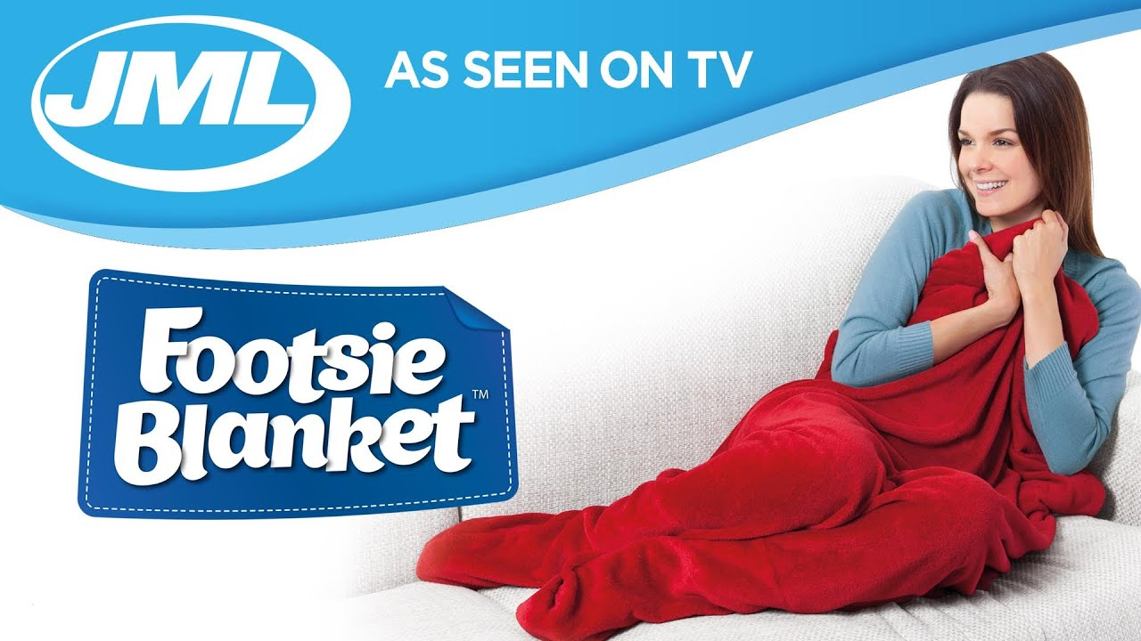 JML Footsie Blanket – Blue | Robert Dyas