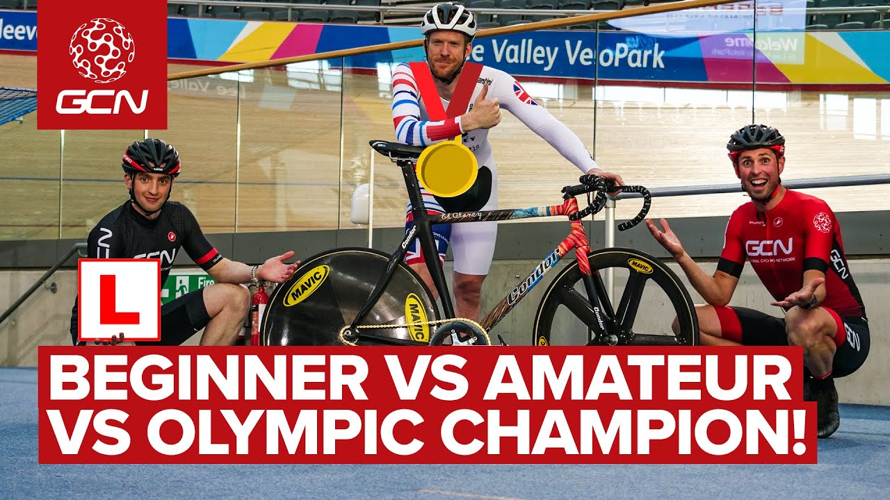 Beginner Vs Amateur Vs Olympic Champion  How Fast Are Pro Track Cyclists