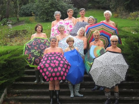 inVisible - Ladies of a certain age  -  introducing Women from Totnes Women's Institute.