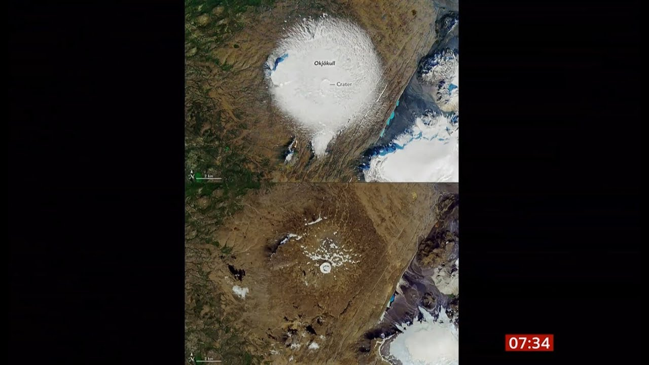 Islandia Peringati Meninggalnya Gletser Okjokull