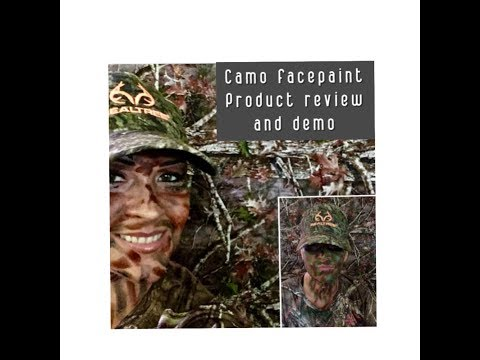 Product Review +demo Camo Face Paint For Hunters