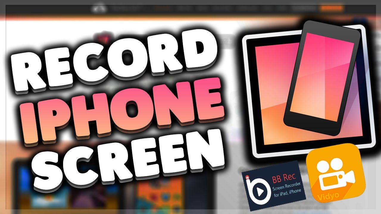 how do i record my iphone screen how to record your iphone screen 2017 2307