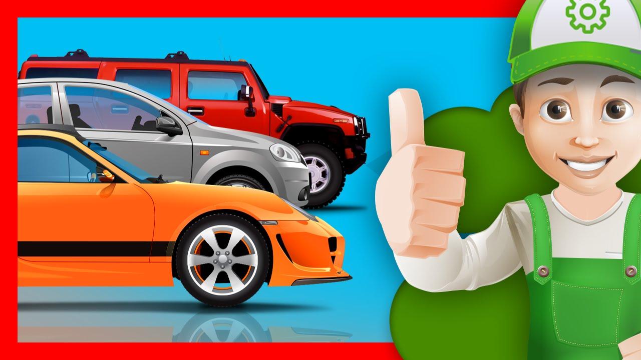 """""""Хочу Знать Все""""- Машинки. Винтик покупает новую машину в автосалоне!"""