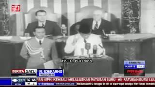 Pidato Soekarno di Kongres AS Terkait Pancasila