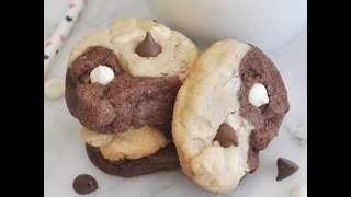 How to Make Yin-Yang Chocolate Chip Cookies