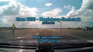 Race1000 - Black Supra onboard
