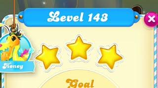 Candy Crush Soda Saga Level 143 3-STAR No Boosters