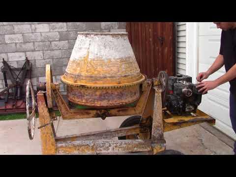 Concrete  Mixer Rehab Stone Cement Fix