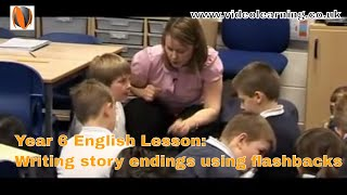 Year 6 English Lesson Observation with Ofsted Judgment