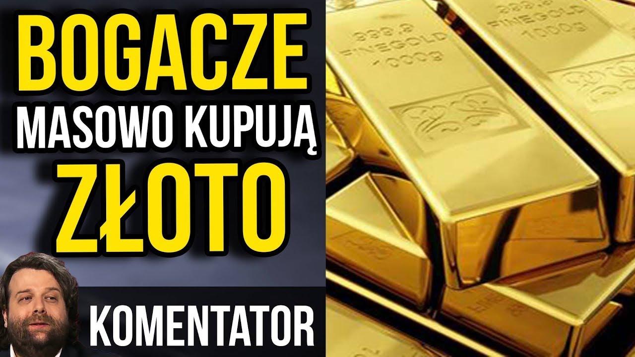 Bogacze Masowo Wykupują Złoto! – Coś Wiedzą?