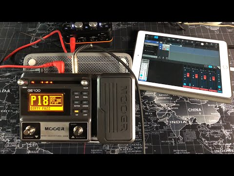 MOOER GE100 Multi-Effects - Fantastic Value Starter Pedal - Live Tutorial