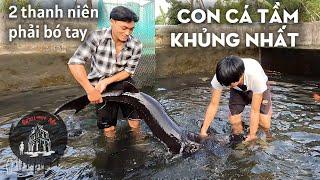 Đi tìm con cá Tầm khủng nhất Sapa - quật ngã 2 thanh niên người Mông