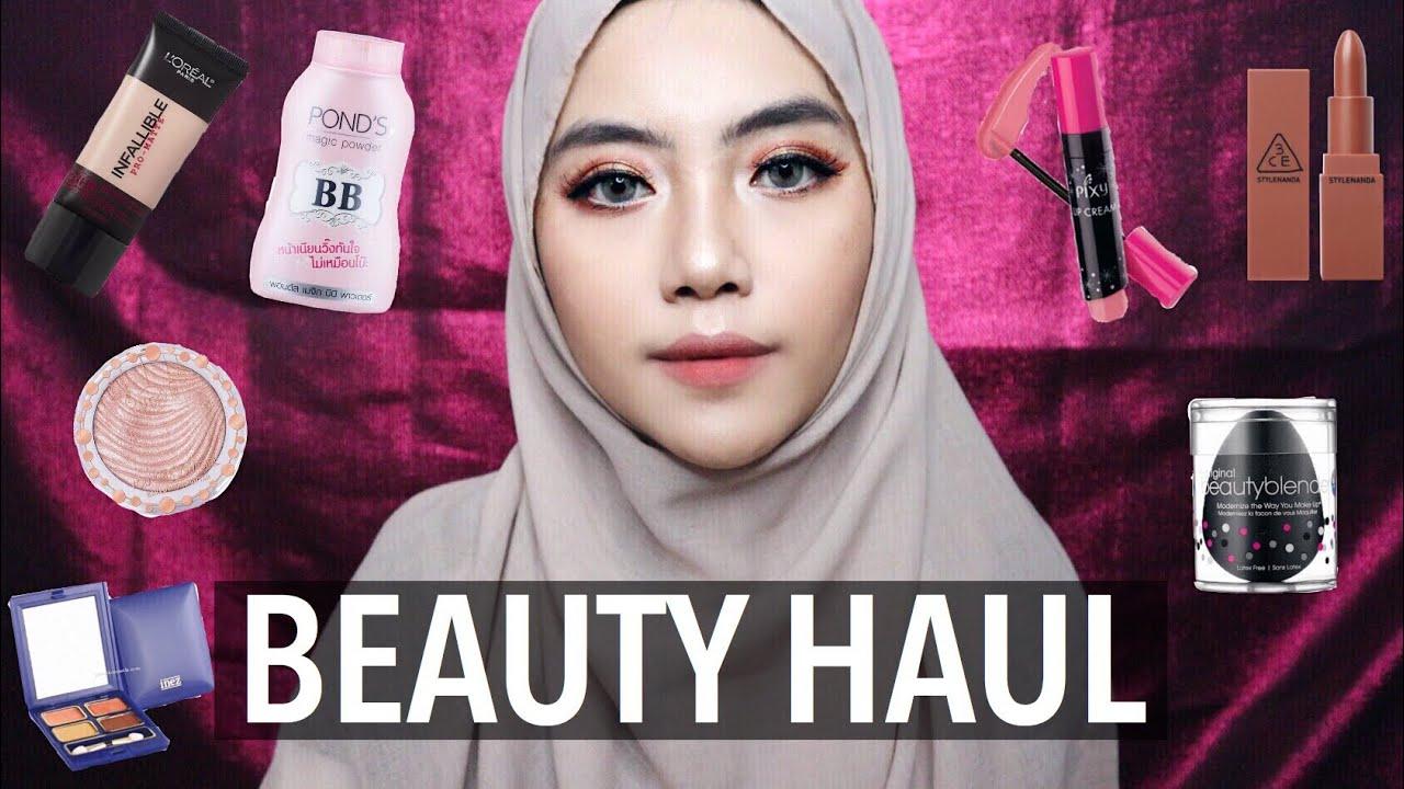 Beauty Haul November 2017 Ponds Bb Magic Powder Pixy Loreal 3ce Inez Face Etc Shafira Eden