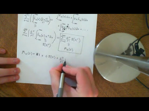 Mean and Variance of Gamma Distribution Part 1