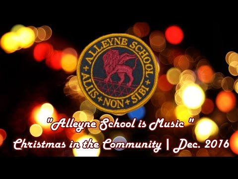 Alleyne School [Barbados] Christmas in the Community 2016