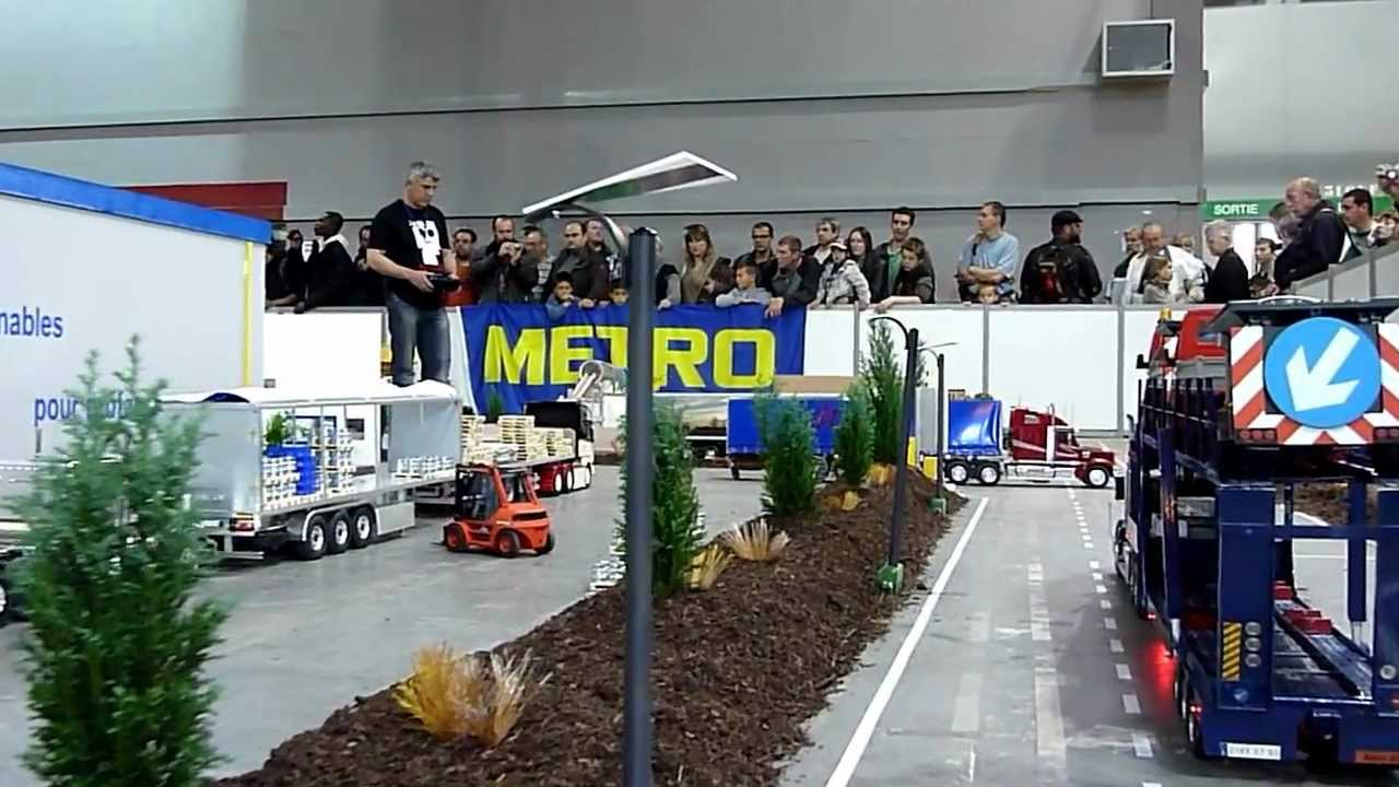 salon modelisme paris 2012 camion rc youtube