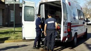 Accidente calle Sarmiento 2017 Video