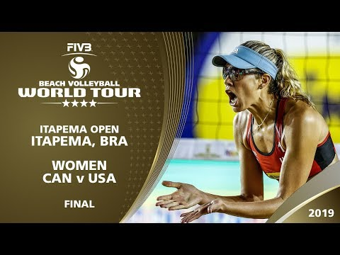 Women's Gold Medal: CAN vs USA | 4* Itapema (BRA) - 2019 FIVB Beach Volleyball World Tour